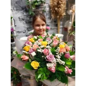 ורדים צבעני